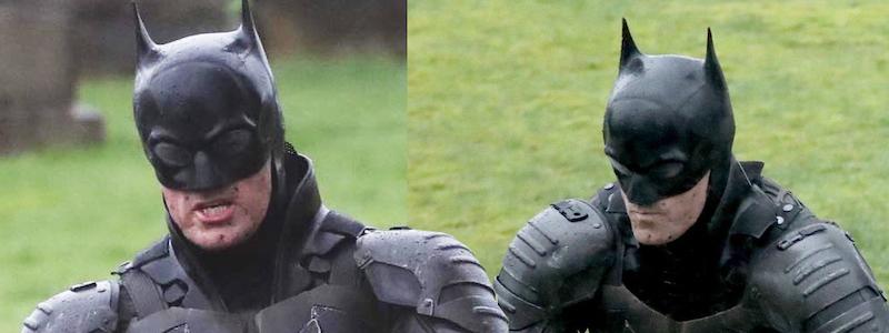 Утечка «Бэтмена» раскрыла новый взгляд на костюм героя Роберта Поттинсона
