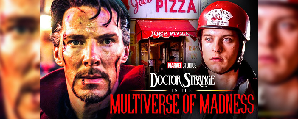 Актер тизерит сцену в пиццерии в «Докторе Стрэндже и мультивселенная безумия»