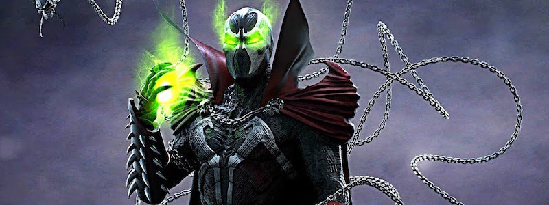 Полноценный взгляд на Спауна из Mortal Kombat 11