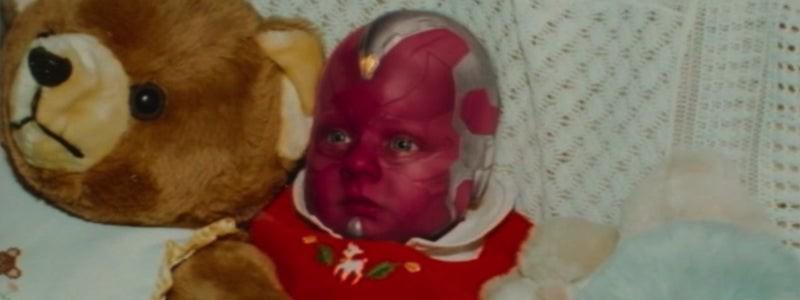 Показан ребенок, который стал малышом Виженом в сериале «ВандаВижен»