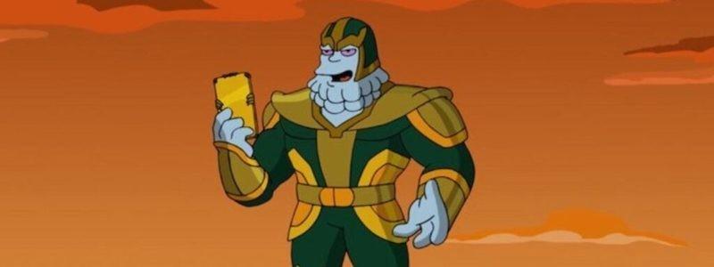 Тизер короткометражки «Симпсоны» по вселенной Marvel