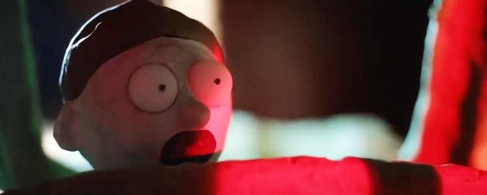 Новое промо сериала «Рик и Морти» - это отсылка к хоррору «Реинкарнация»
