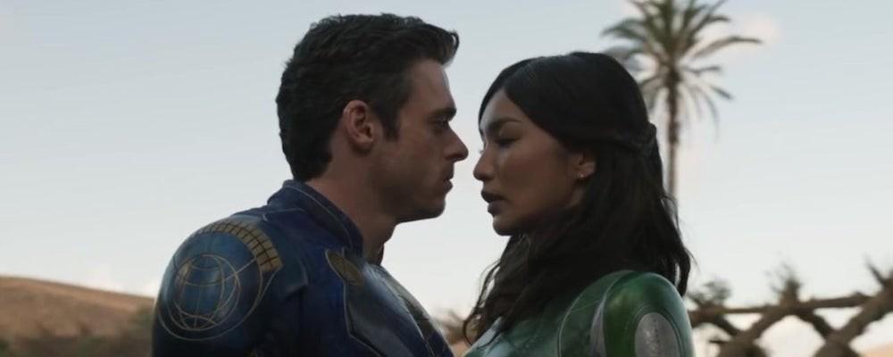 Актриса Marvel рассказала о романе в фильме «Вечные»