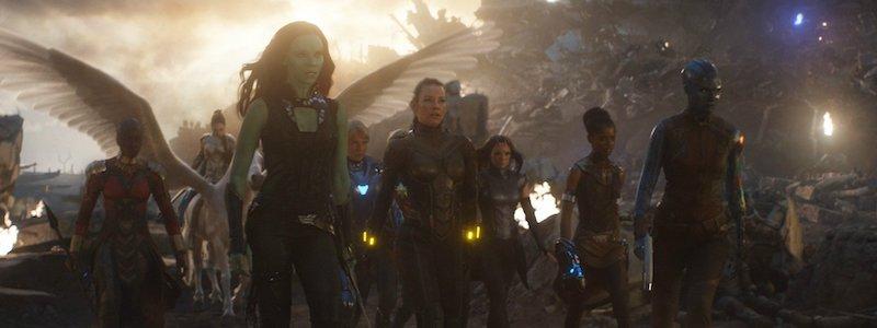 Новый взгляд на женскую команду киновселенной Marvel