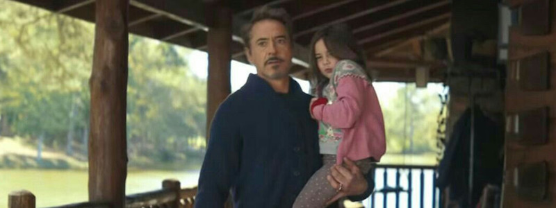 Душераздирающий арт «Мстителей: Финал» показал Тони Старка с дочерью