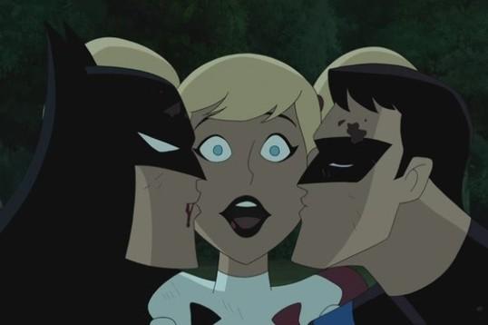 Секс бэтмена с харли квин