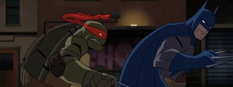 Посмотрите вступление «Бэтмена против Черепашек-ниндзя»
