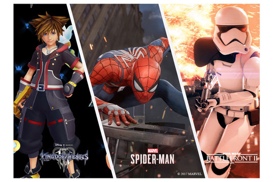 Игровые анонсы с D23 2017: Spider-Man, Star Wars, Marvel и Kingdom Hearts 3