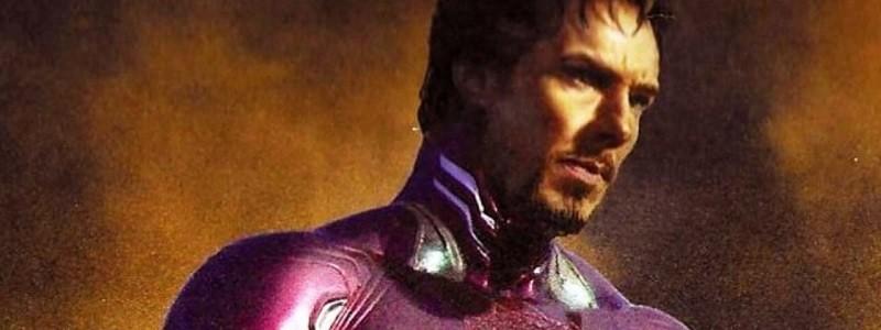 Взгляните на Доктора Стрэнджа в костюме Железного человека