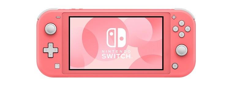Дата выхода Nintendo Switch Lite в коралловом цвете