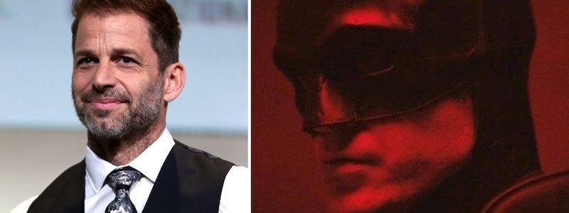 Раскрыта реакция Зака Снайдера на трейлер «Бэтмена» с Паттинсоном