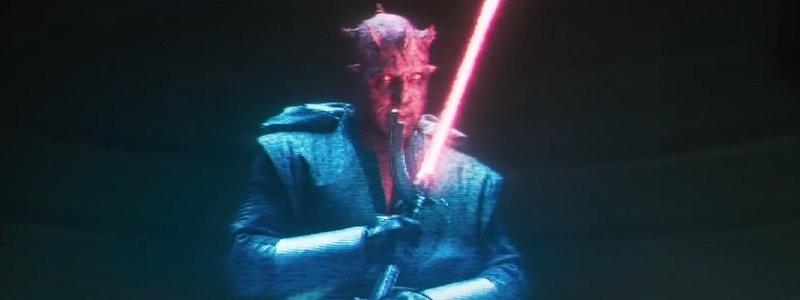 Тизер возвращения Дарта Мола во вселенной «Звездные войны»