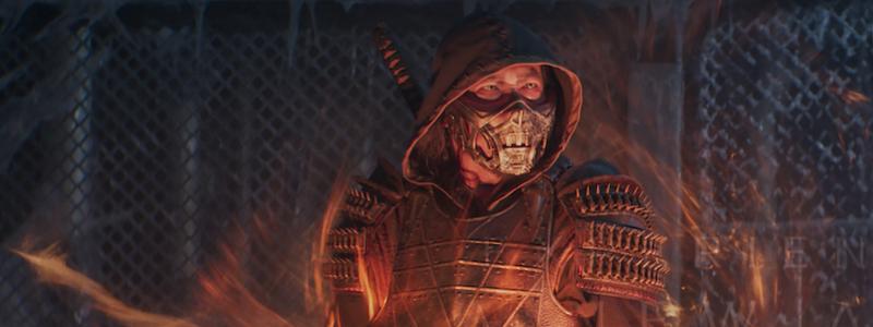 Скорпион сражается с кланом Лин Куэй в отрывке из Mortal Kombat
