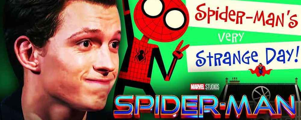 Детская книжка по фильму показана до трейлера «Человека-паука: Нет пути домой»
