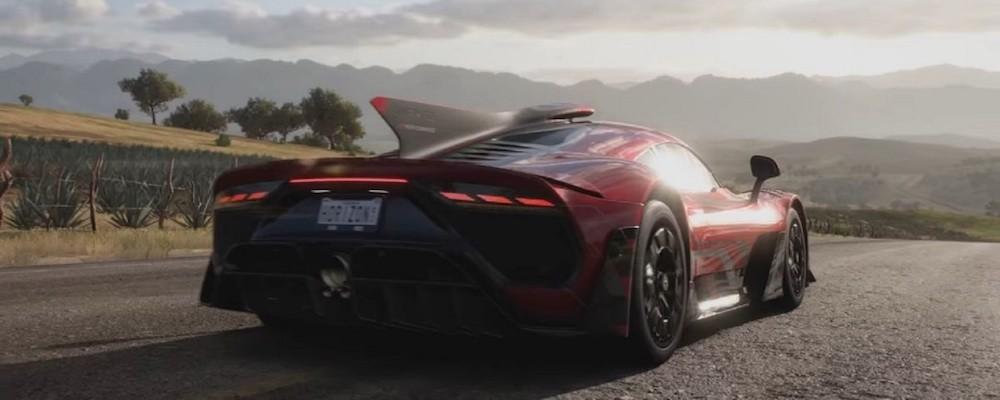 Обложка и новый геймплей Forza Horizon 5