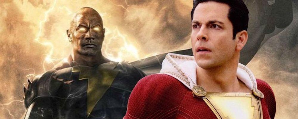 Закари Ливай надеется на встречу Шазама и Черного Адама в киновселенной DC
