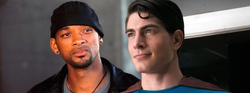 Как Уилл Смит выглядит в роли Супермена