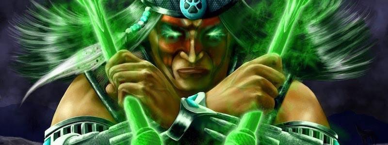 Тизер персонажа из DLC к Mortal Kombat 11. Ночной Волк?