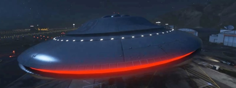 Датамайнеры нашли секретную миссию с НЛО в GTA Online