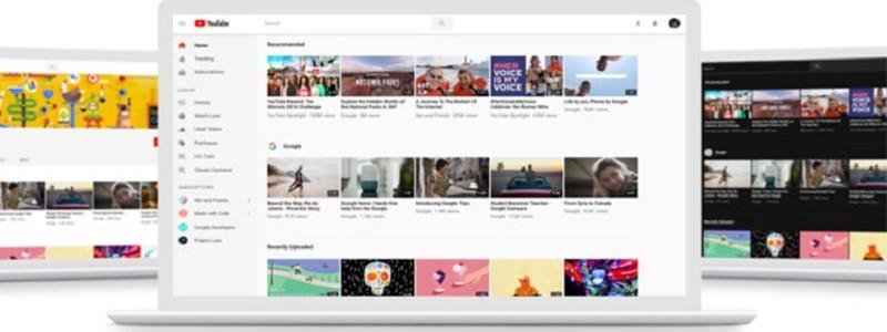 Представлен новый логотип YouTube и новый дизайн