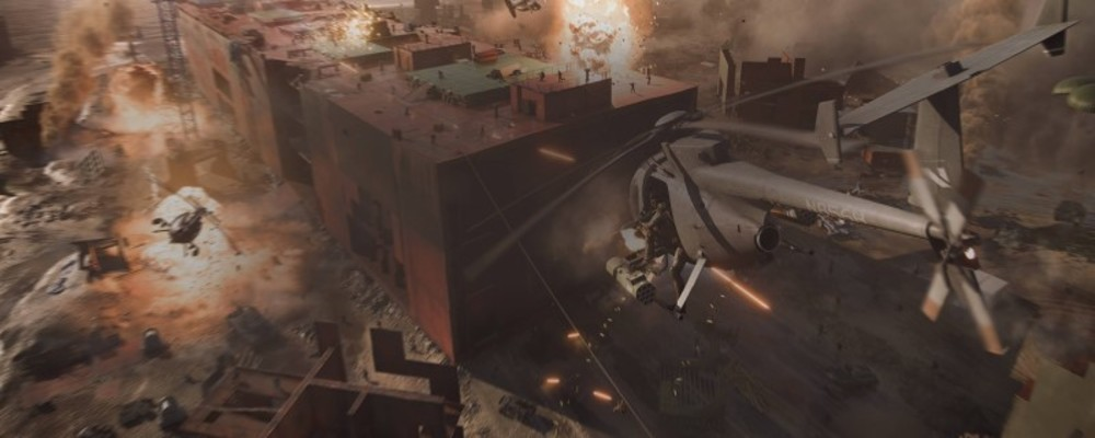 Стал известен список классических карт, которые появятся в Battlefield 2042