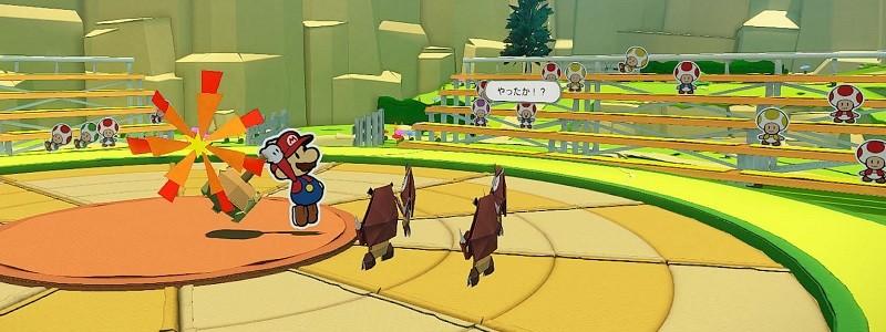 Подробный обзор Paper Mario: The Origami King в новом трейлере