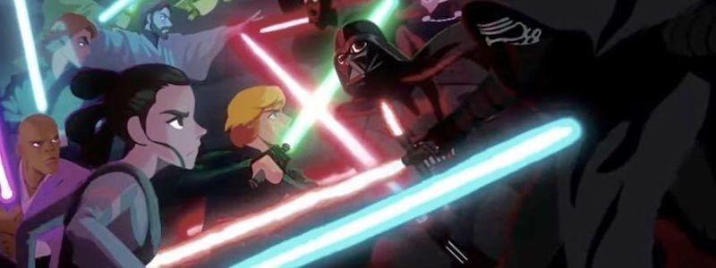 Раскрыто, когда будет показано аниме по «Звездным войнам»