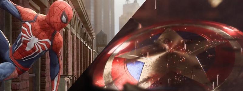 Связь игр «Мстители» и «Человек-паук» от Marvel
