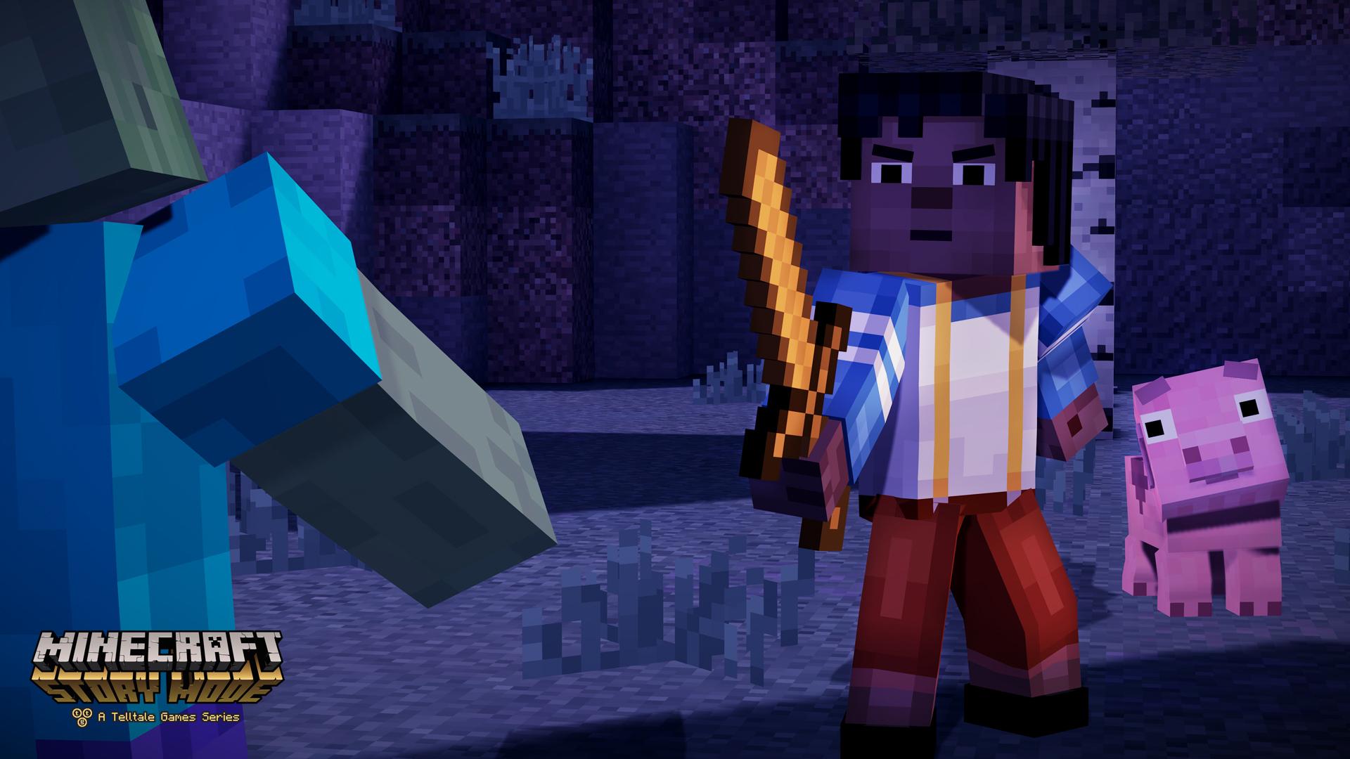 Подробности Minecraft: Story Mode от Telltale