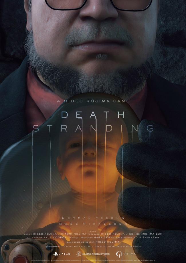 Новый трейлер Death Stranding с The Game Awards 2016 2
