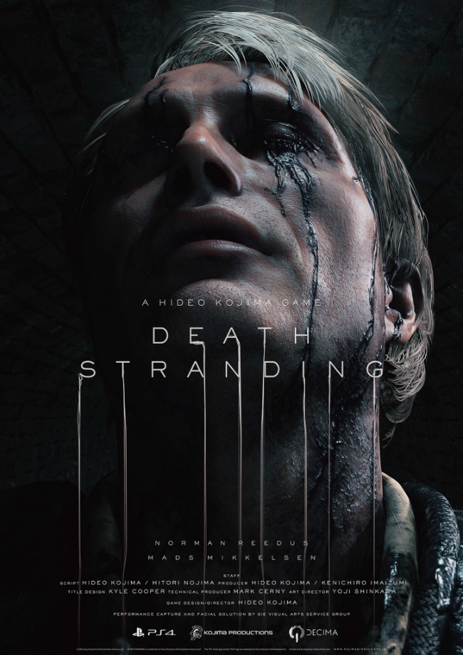 Новый трейлер Death Stranding с The Game Awards 2016 1