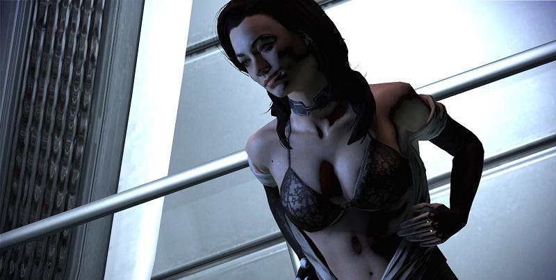 Секс в Mass Effect Andromeda будет красивым