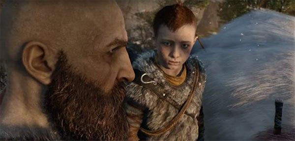 Стало известно имя сына Кратоса из God of War для PS4