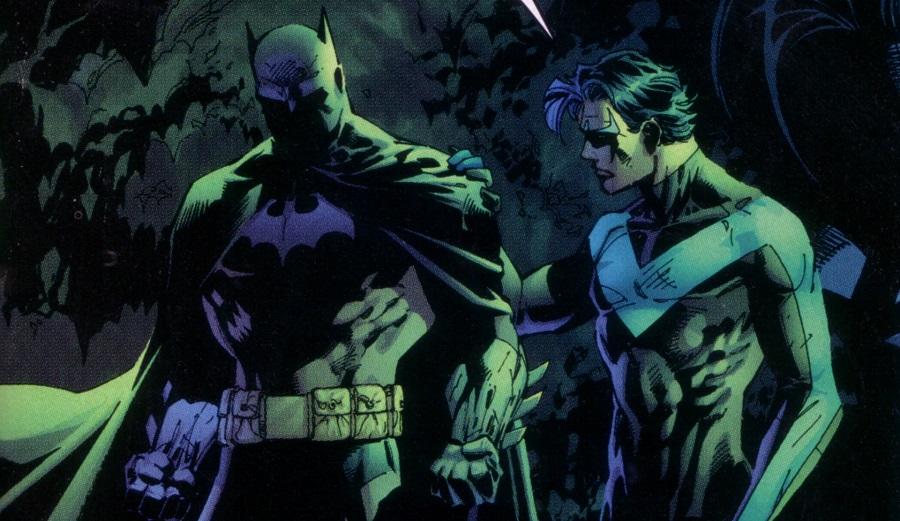 Отличия Бэтмена и Найтвинга