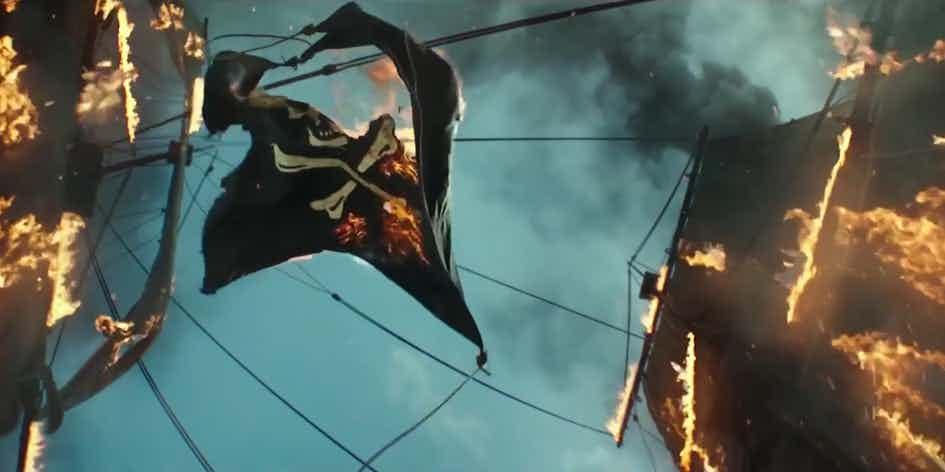 Что показали в трейлере №2 «Пираты Карибского моря 5: Мертвецы не рассказывают сказки» 1