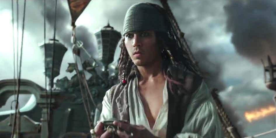 Что показали в трейлере №2 «Пираты Карибского моря 5: Мертвецы не рассказывают сказки» 2