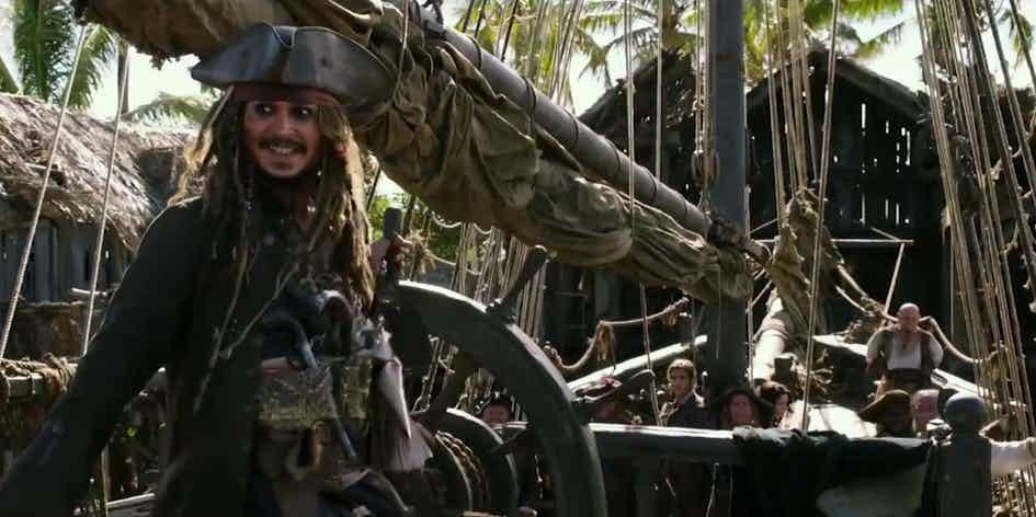 Что показали в трейлере №2 «Пираты Карибского моря 5: Мертвецы не рассказывают сказки» 5