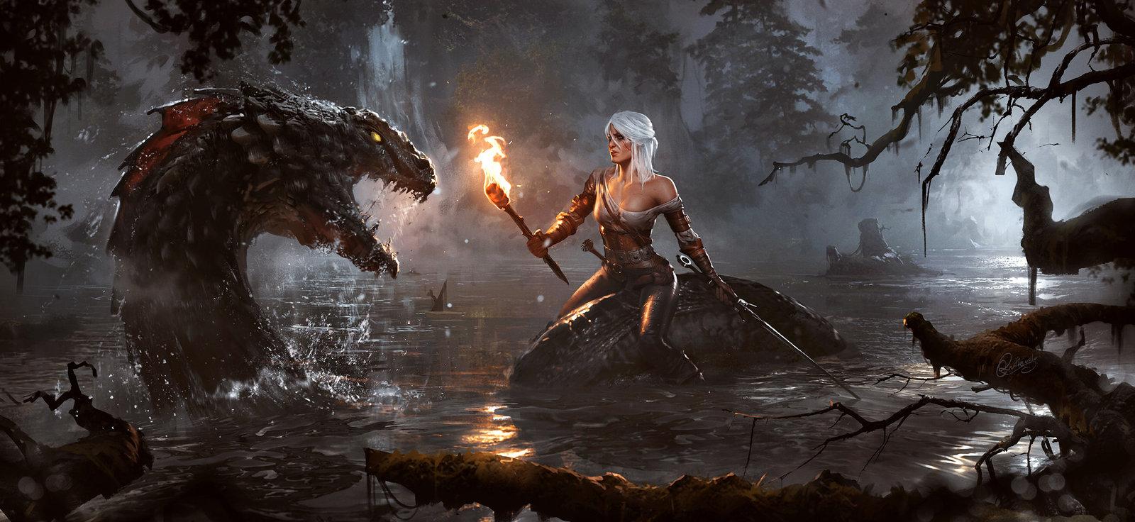 Продано свыше 25 млн копий игр серии «Ведьмак»
