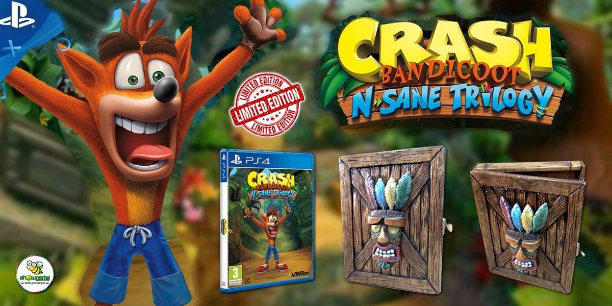 Коллекционное издание Crash Bandicoot N. Sane Trilogy