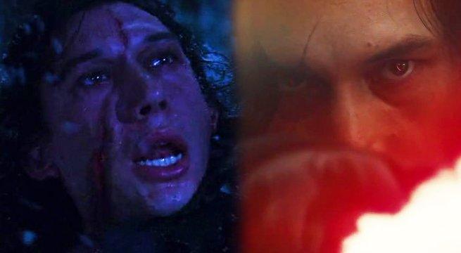 Почему Кайло Рену имеет другой шрам в «Звездных войнах: Последние джедаи»
