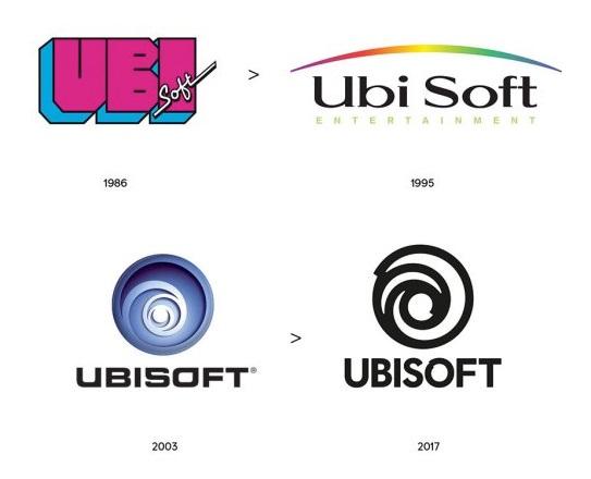 Как менялся логотип Ubisoft