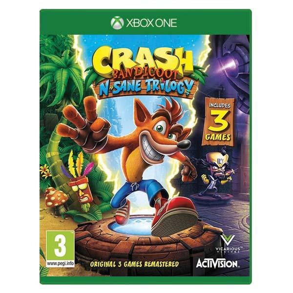 Crash Bandicoot N. Sane Trilogy выйдет в декабре 2017 на Xbox One?