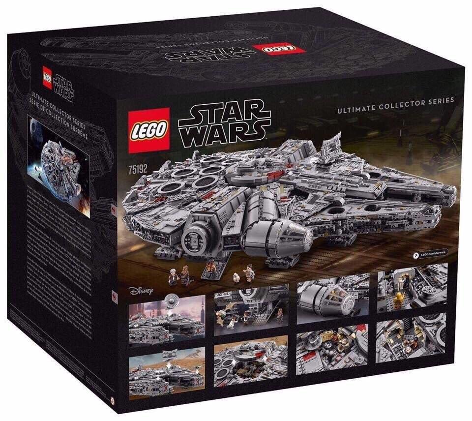 Представлен самый большой набор LEGO: Тысячелетний сокол из «Звездных войн»