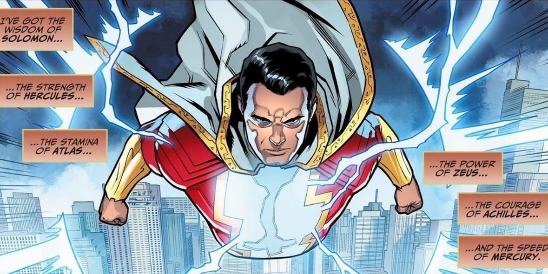 Почему Шазама звали Капитан Марвел?