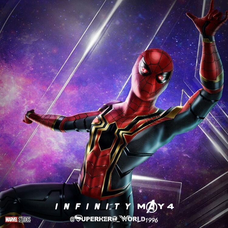 avengers infinity war spiderman and iron mans new