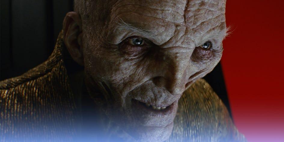Новости Звездных Войн (Star Wars news): Сноук сыграет важную роль в сюжете «Звездных войн 9». Как он выжил?