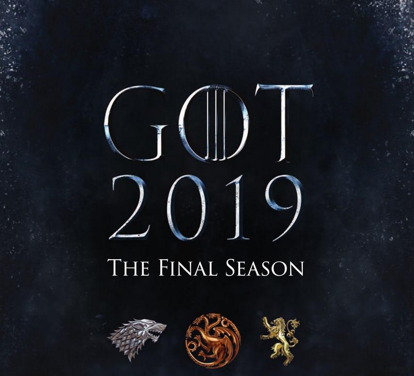 Первый постер 8-го сезона «Игры престолов»