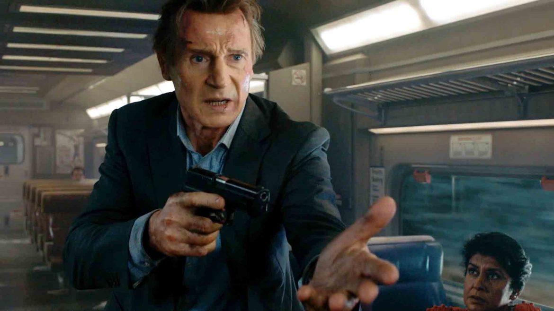 Картинки по запросу «Пассажир». Лиам Нисон против поезда.