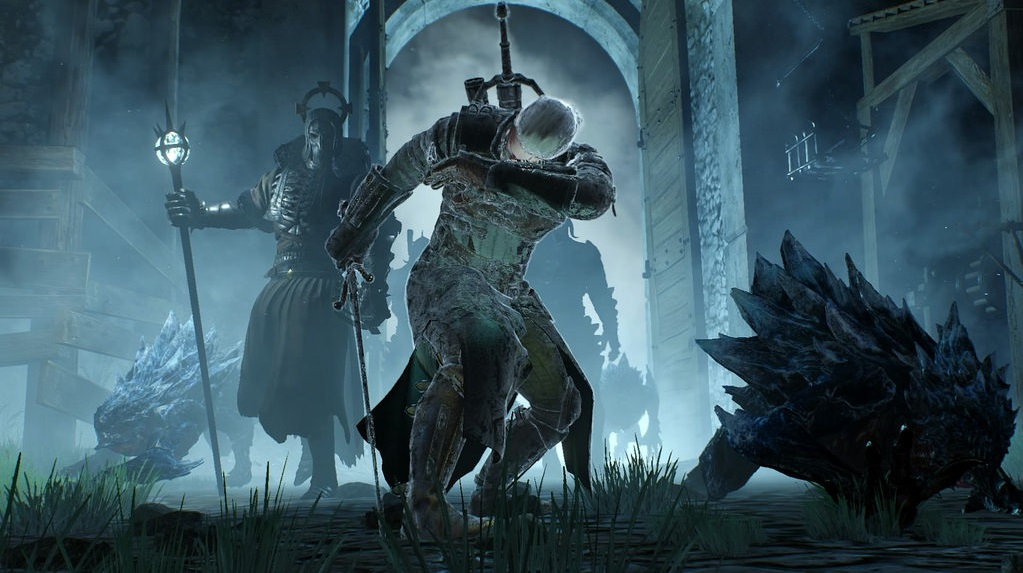 Картинки по запросу the witcher battle kaer morhen