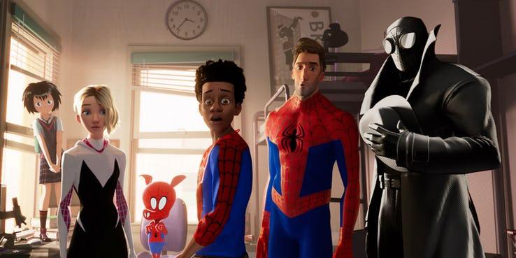 Все известные фильмы по миру Человека-паука